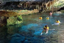 Caribbean Snorkel & Underground River Explorer (min age 4) - Riviera Maya