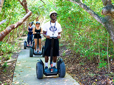 Segway Tour of Blue Lagoon with Lunch (see restrictions)
