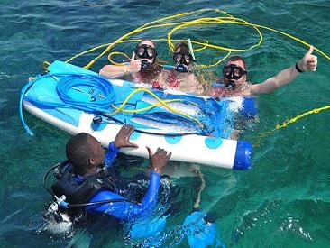 Bavaro Splash Snuba Adventure - Two People in Speed Boat (min age 8)