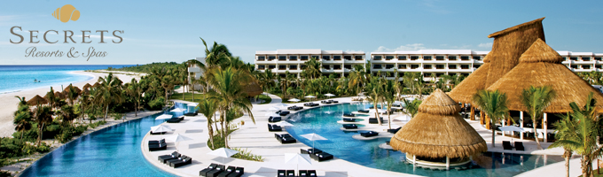 Secrets hotels resorts and spas secrets hotels all for Spa resort vacation packages