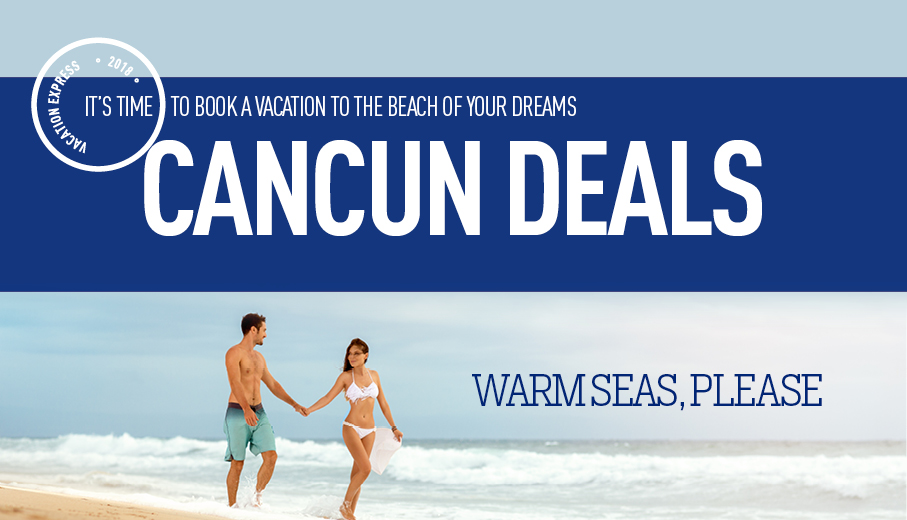 Salt Lake City to Cancun Deals