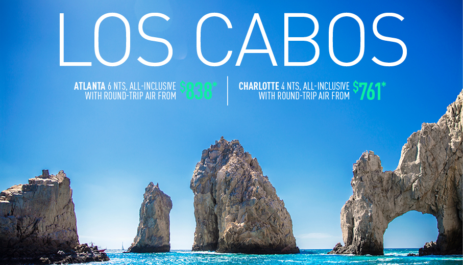 Atlanta Charlotte To Los Cabos All Inclusive Vacation Packages The Best Deals From Vacation