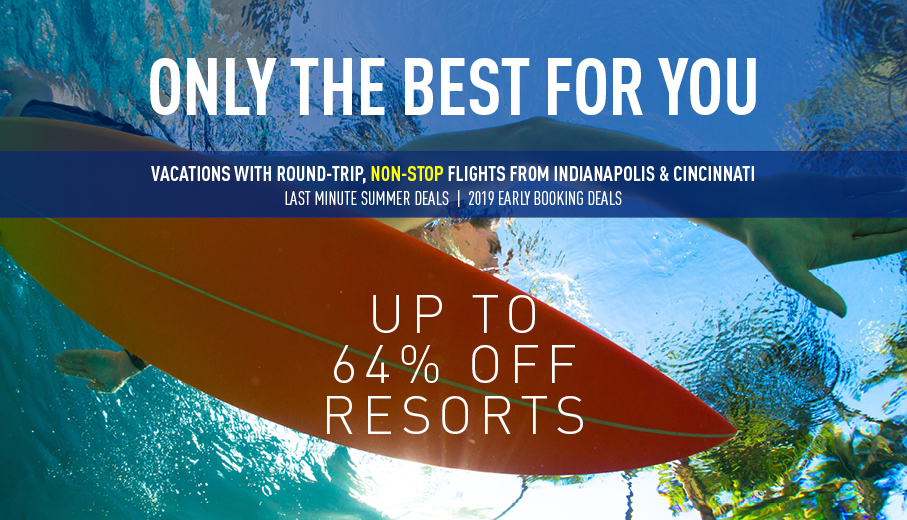 Indianapolis Last Minute & Early Booking Deals