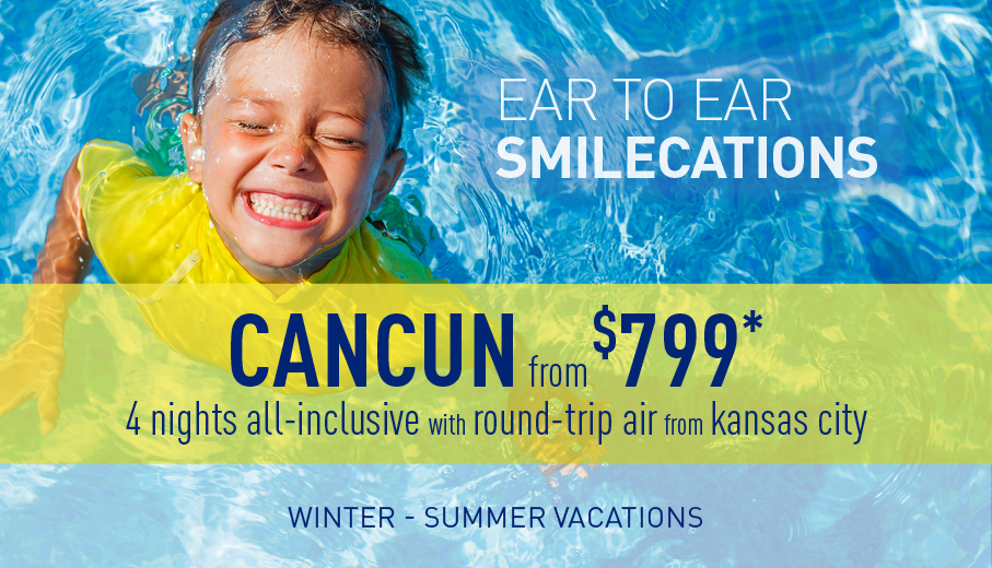 Kansas City to Cancun Deals