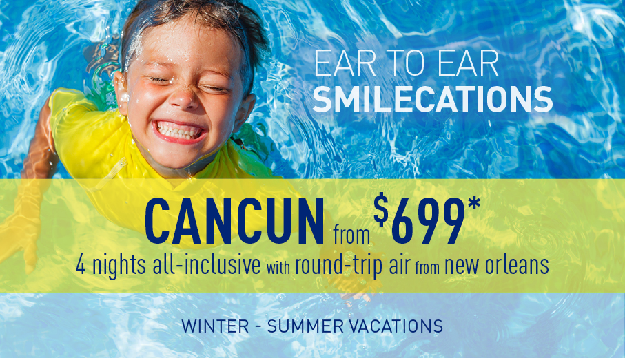 New Orleans to Cancun Deals