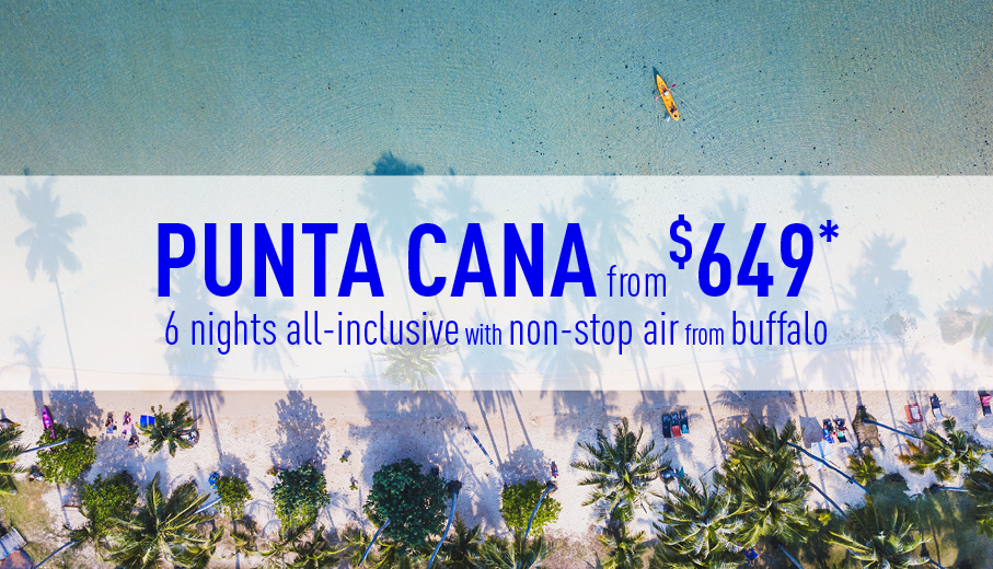 Buffalo to Punta Cana Deals