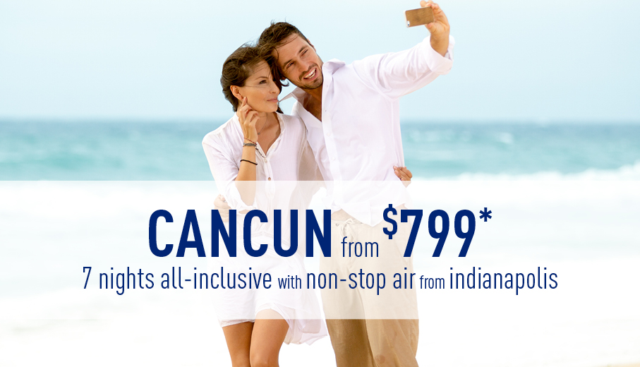 Indianapolis to Cancun Deals