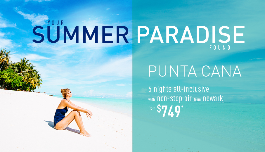 0b8f00f4f83 Newark to Punta Cana All-Inclusive Vacation Packages - The Best ...