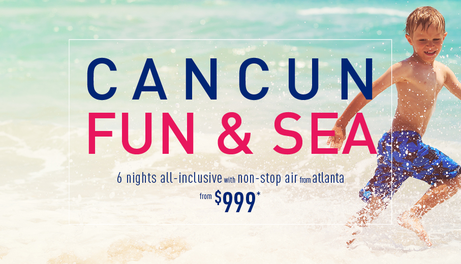 Atlanta to Cancun Deals