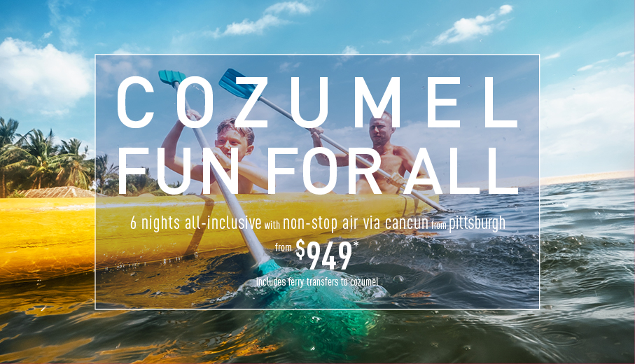Pittsburgh to Cozumel Deals