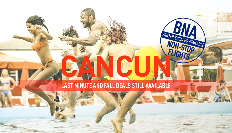 Nashville to Cancun Deals