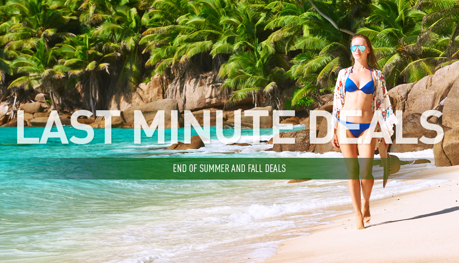Last Minute Deals On All-Inclusive Packages By Vacation