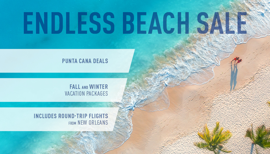 New Orleans to Punta Cana All-Inclusive Vacation Packages