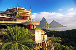 Golf Course at Jade Mountain at Anse Chastanet, Soufriere