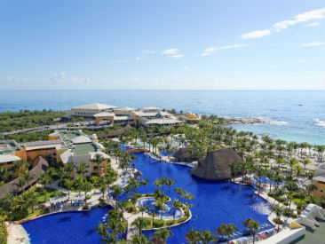 Bars and Restaurants at Barcelo Maya Palace, Riviera Maya