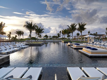 Bars and Restaurants at UNICO 20°87° Hotel Riviera Maya, Kantenah Beach