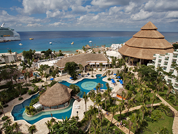 Bars and Restaurants at Grand Park Royal Cozumel, Cozumel