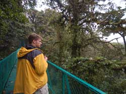 Hiking in the Cloud Forest