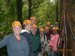 Vacation Express Team does the Canopy!