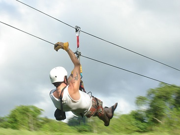Canopy N' Ride (min age 8)