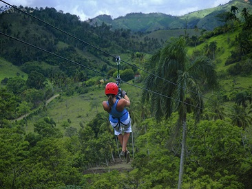 TOP 10 - Zipline Canopy Adventure (please see restrictions)