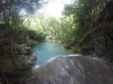 Blue Hole & The Garden from Runaway Bay/ Ocho Rios Area Hotels (min age 6)