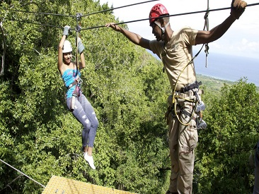 Chukka Canopy Tour from Montego Bay Hotels (see restrictions)