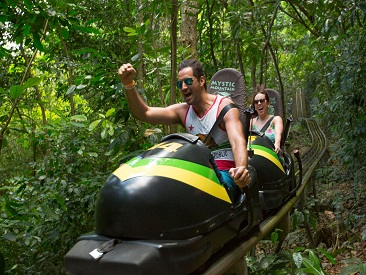 TOP 10 - Mystic Mountain Sky Explorer & Bobsled from Montego Bay Hotels