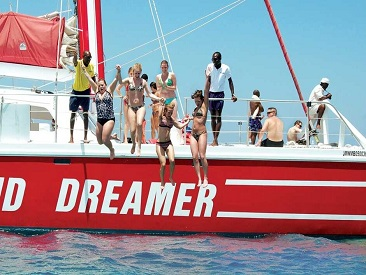 Tropical Dreamer Catamaran Sunset Cruise from Montego Bay Hotels