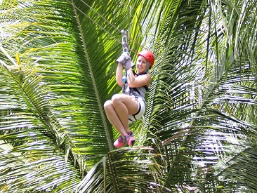 TOP 5 - Treetop Canopy Adventure (min age 5/min height 4 ft) (not available from Coconut Bay Beach Resort)