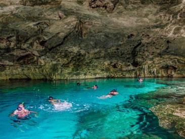 Cenotes & Paradise Lagoon (min age 8)