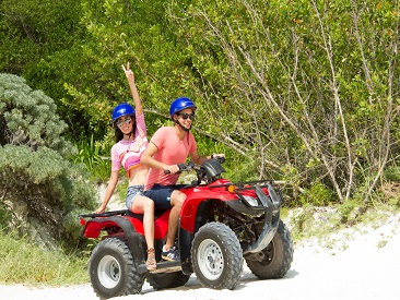 TOP 10 - ATV Maroma Double - Cancun (min age 16 to drive or 6 for passenger)