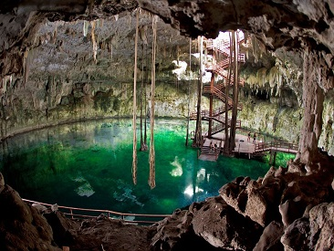 TOP 10 - Ek Balam Mayan Cenote Adventure (min age 6) - Cancun