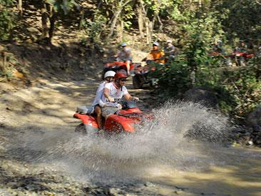 Combo Canopy ATV Single Rider (min age 16)