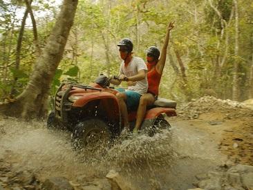 ATV River Adventure - Double Rider (min age 18)