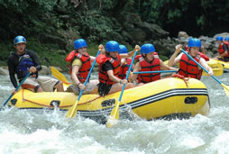 White Water Rafting (Class IV) (min age 10)