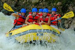 Half Day Rafting Trip at Balsa River (Class II/III) (min age 10)