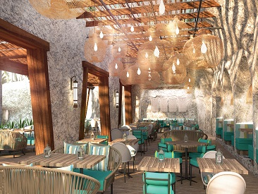 Bars and Restaurants at Now Natura Riviera Cancun, Benito Juarez, Quintana Roo