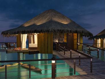 Palafitos - Overwater Bungalows at El Dorado Maroma, Riviera Maya