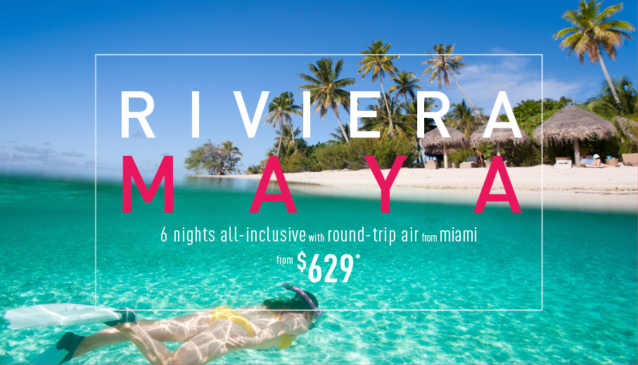 Miami to Riviera Maya Deals