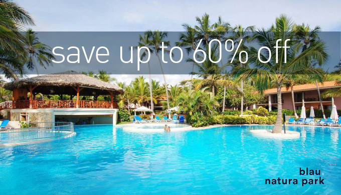 Save Up to 60% in Punta Cana