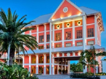 Bars and Restaurants at Pelican Bay Hotel, Lucaya, Grand Bahama Island