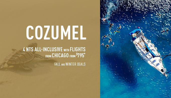 Chicago to Cozumel Deals