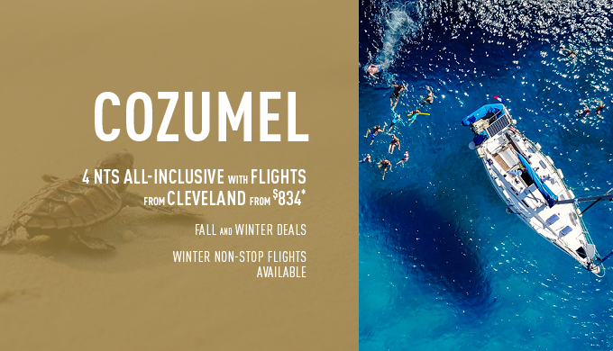 Cleveland to Cozumel Deals