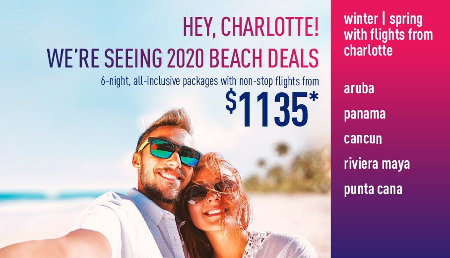 Charlotte Early Booking Deals