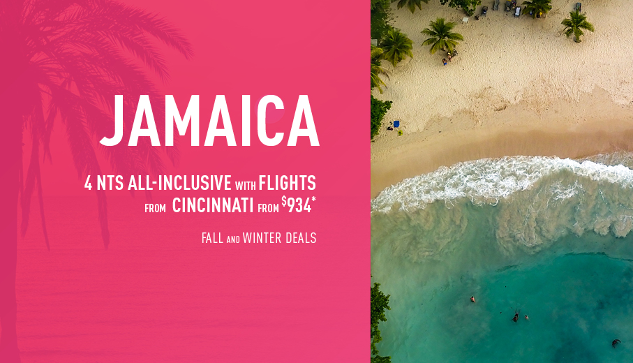 Cincinnati to Jamaica Deals