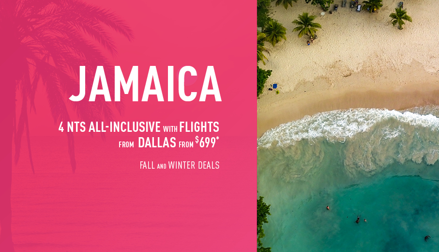 Dallas to Jamaica Deals