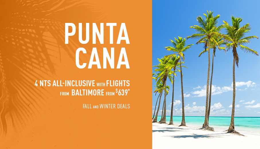 Baltimore to Caribbean Deals