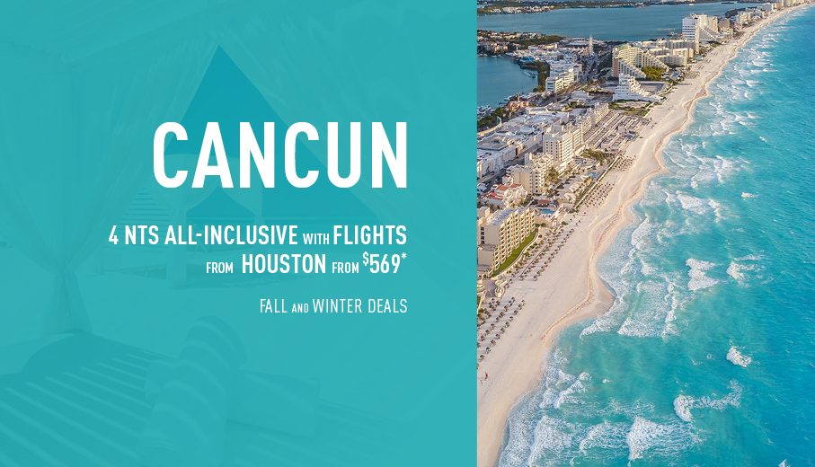 Houston to Cancun Deals