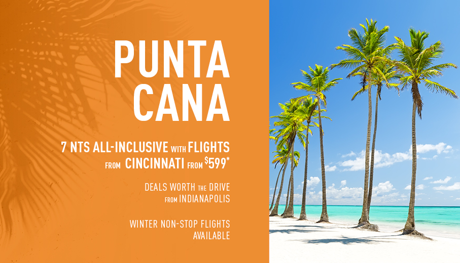 Indianapolis  to Caribbean Deals